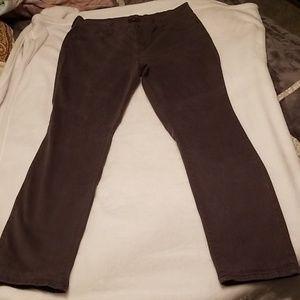 NYDJ pants samantha fit slim size 14